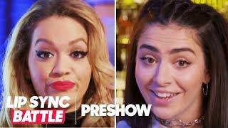 (EXPLICIT) Charli XCX vs. Rita Ora 🇬🇧 The British Are Coming!!   Lip Sync Battle Preshow