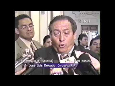 Declaraciones del congresista José Luís Delgado