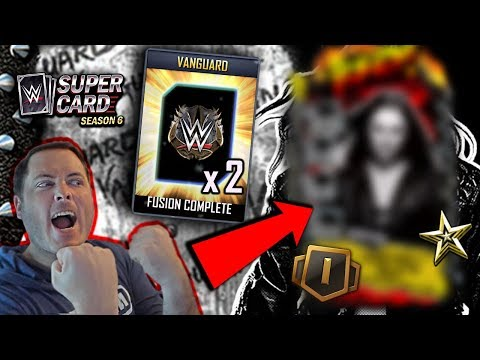 THIS CARD IS INCREDIBLE.. DOUBLE VANGUARD FUSION!! | WWE SuperCard Season 6