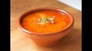 Самый вкусный  кукурузный суп с курицей и чили! Простой рецепт.