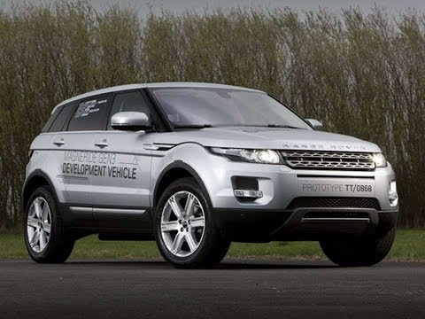 #595. Land rover range rover evoque magneride gen3 5 door 2011 (Prototype Car)