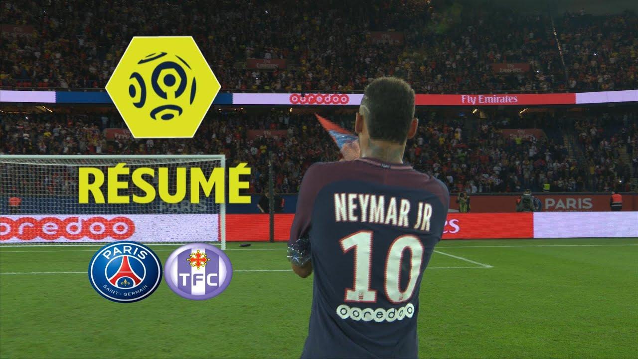 Paris Saint-Germain - Toulouse FC (6-2) - Résumé - (PSG - TFC)   2017-18 554cf24e83ed6