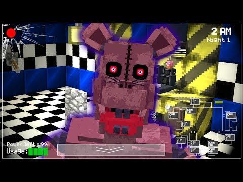 MONSTER RAT EST HORRIBLE ! ( FNAF Minecraft )