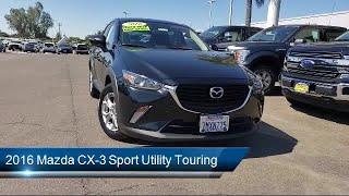2016 Mazda CX-3 Sport Utility Touring Merced  Turlock  Modesto  Fresno  Los Banos