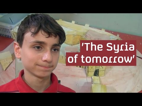 Inside Aleppo: the boy who dreams of rebuilding his city