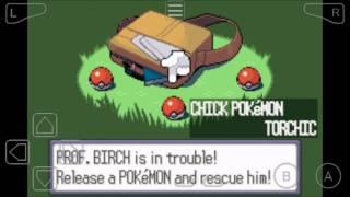 pokemon ruby versión : ep1:comienza la aventura