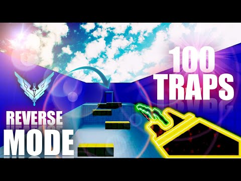 RECORD 100 Traps En REVERSA! | REVERSE / GOD MODE | Block Strike