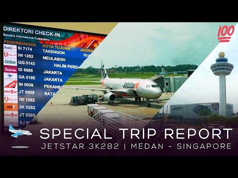 [Trip Report] Jetstar 3K 282 Airbus A320 Medan - Singapore | Broewnis Travel