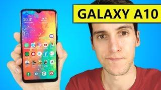 Samsung Galaxy A10, REVIEW y UNBOXING en español