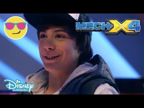 Mech-X4 | Let's Open The Monster Heart! | Official Disney Channel UK