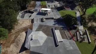 mona vale skate park overview