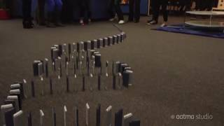 IPhone domino (Most satisfying)