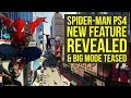 New Spider Man Gameplay Shows Photo Mode, TEASES BIG NEW MODE & More! (Spiderman PS4 Gameplay)