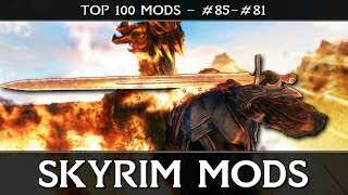 SKYRIM MODS - TOP 100: #85-81 - Swords, 'Lore-Friendly' & Kill-moves!