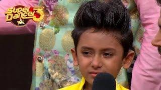 Super Dancer Chapter 3 : Saksham Sharma Crying After Dance Performance In SDC 3