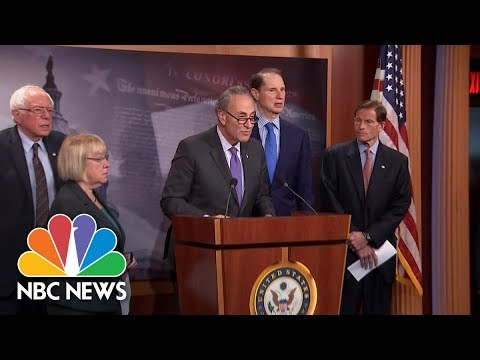Senate Democrats: GOP Health Care Plan Should Be Dead On Arrival | NBC News