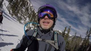 New Mexico Ski Resorts - WAIT! That Sign Says You Can DIE!  And That's Why Taos Ski Valley is Awesome.