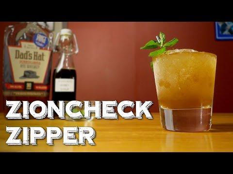 Zioncheck Zipper - a Mint Julep Remix with Honey & Rye Whiskey (Recipe via The Dollop)