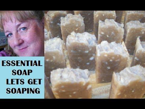 How to make 5 Kinds of Heaven Soap, Argan, Avocado, Shea Butter & Olive Oil Lye Soap