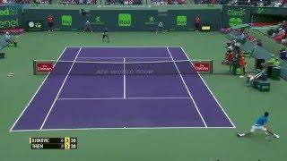 2016 Miami Open: Thiem sparkles against Djokovic