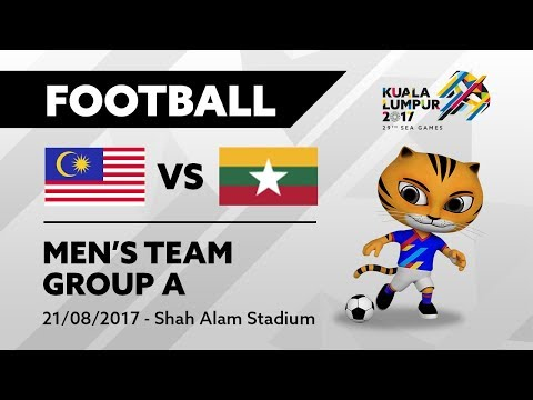 KL2017 Men's Football - MAS 🇲🇾 vs MYA 🇲🇲 | 21/08/2017