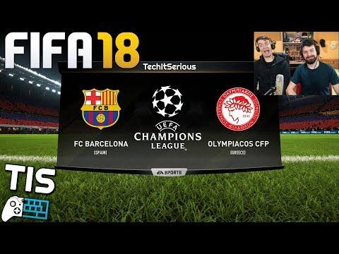 Barcelona - Olympiakos   18/10/2017 - FIFA 18