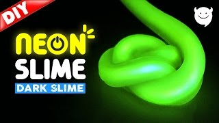DIY Glow In The Dark Slime ! Glow Slime | MonsterKids