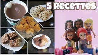 59 - 5 recettes pour l&#39hiver avec les LEGO Friends