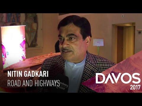 WEF 2017: Nitin Gadkari On Ministry's Targets