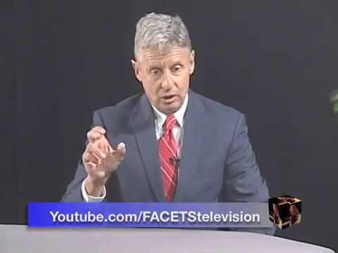 SPECIAL: Gov. Gary Johnson on FACETStv