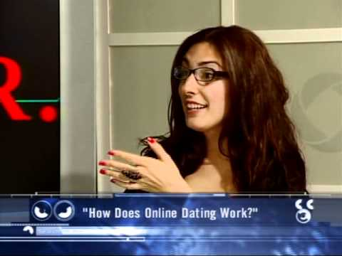 How does online dating work