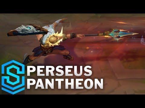Perseus Pantheon Skin Spotlight - Pre-Release - League of Legends