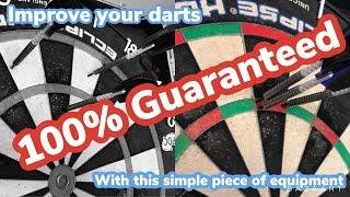 Improve at darts 100 % guąranteed with this simple trick