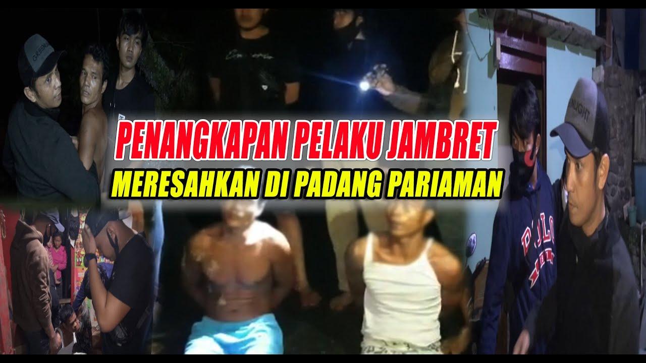 Penangkapan pelaku Spesialis Jambret meresahkan masyarakat Padang Pariaman || Tim Gagak Hitam.....