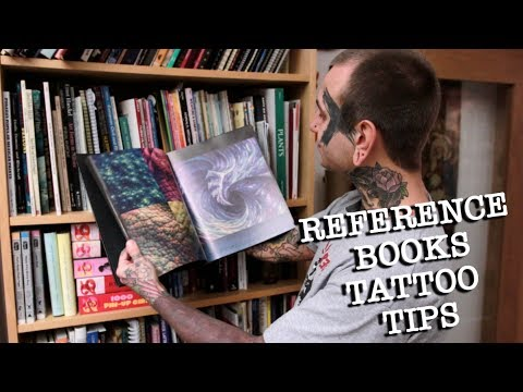 REFERENCE BOOKS / TATTOO DESIGN TIPS