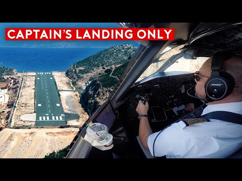The Most Difficult Landing - Greece Island Hopping Flying Adventure