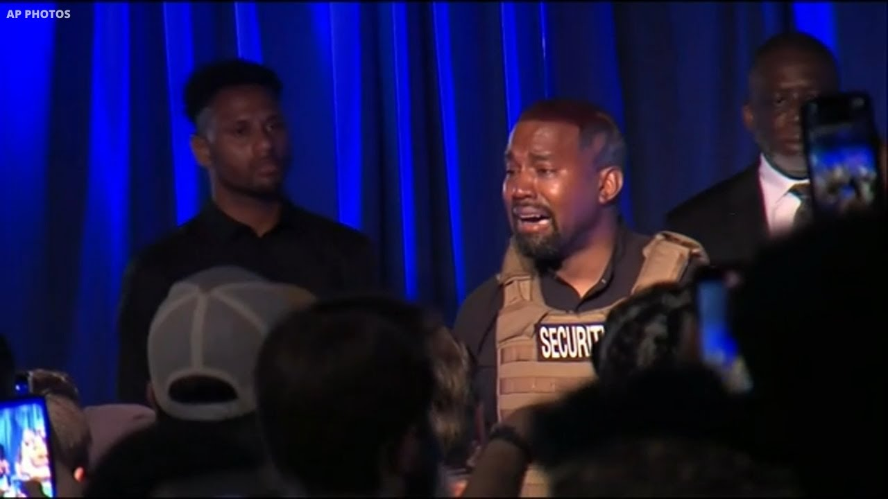 Kanye West Holds 1st Political Rally In South Carolina Since Announcing Run For President Youtube