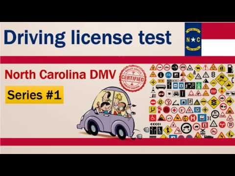 Driving license test: North Carolina DMV Permit Practice Test #1