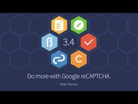 Joomla! 3.4 - Google ReCAPTCHA Feature