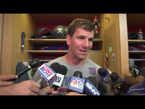 Eli Manning On his  Expectations for Week 1