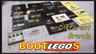 The Different LEGO Bootleg Brands | BOOTLEGOS display stands  | The many Fake LEGO