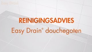 Easy Drain Douchegoot reinigen