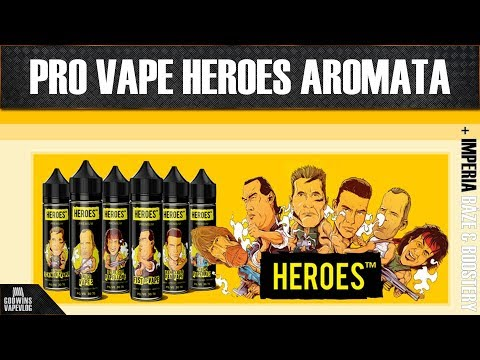 Premiová aromata - Pro Vape Heroes Shake and Vape - Míchání a příprava + první ochutnávka (CZ)