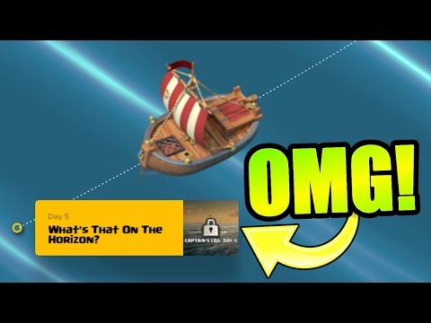 "Thumbnail: SUPERCELL CONFIRMS FINAL CAPTAINS LOG!! ""What's That On The Horizon!?"" - Clash Of Clans"
