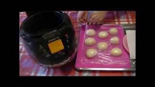Домашние видео рецепты -  классические пончики в мультиварке