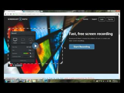 Como usar Screencast -O- Matic - YouTube