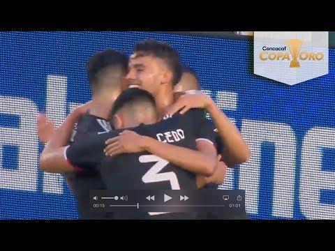 Gol de Diego Reyes | México 3 - 0 Cuba | Copa Oro | Televisa Deportes