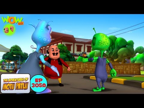 Chor Aliens | Motu Patlu in Hindi | 3D Animation Cartoon | As on Nickelodeon thumbnail