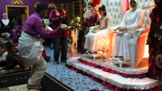 Tarian piring Pahang ( Wedding My Twin )