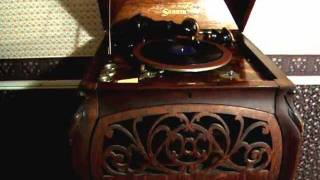 Demonstration of Sonora Elite Phonograph & Cabinet - Followed by a 1918 Jolson Classic